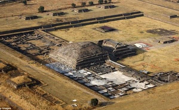 Situl arheologic de la Teotihuacán
