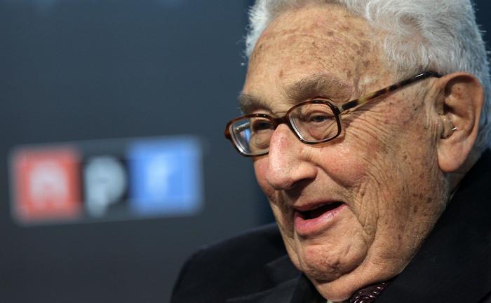 Henry Kissinger la Woodrow Wilson Center, Washington, la o conferinţă despre creşterea puterii militare a Chinei, octombrie 2012