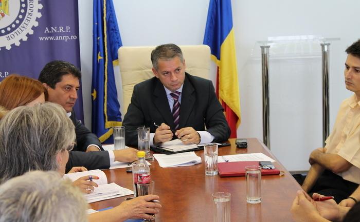 Preşedintele ANRP, George Băeşu