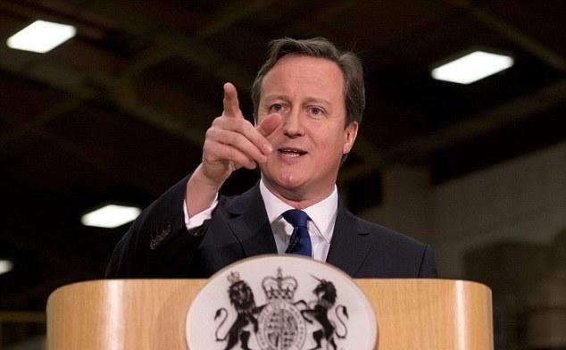 Premierul britanic, David Cameron.