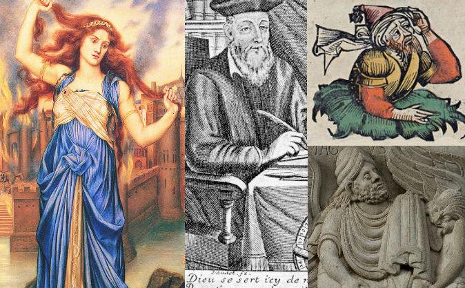Câţiva aşa numiţi vrăjitori din istorie.