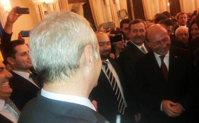 Traian Băsescu şi Liviu Dragnea