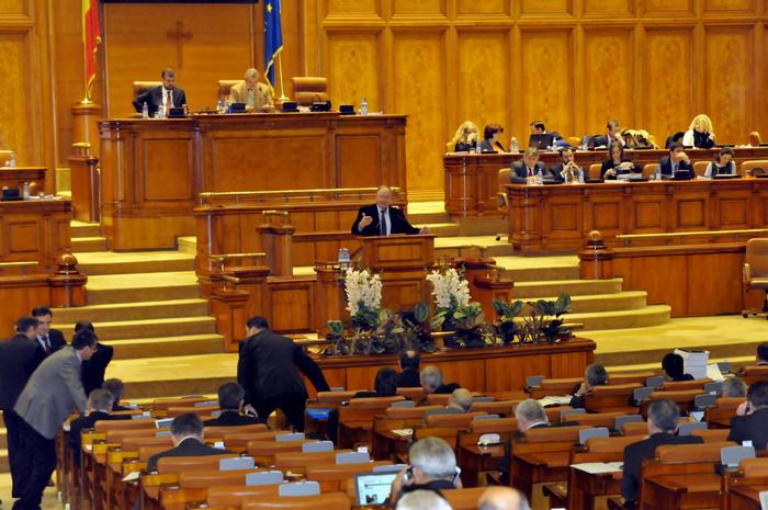Şedinţa în plen la Camera Deputaţilor