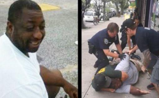 Eric Garner şi arestarea sa.