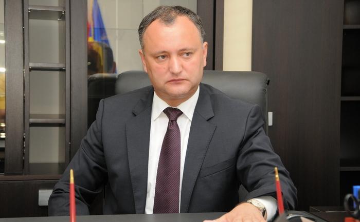 Liderul Socialiştilor din R. Moldova, Igor Dodon