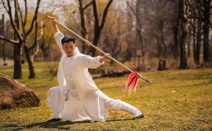 Longfei Yang, maestru al stilului de Gong Fu Tang Lang Quán.