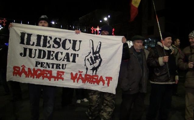 Proteste în Piaţa Universităţii, 21 decembrie 2014