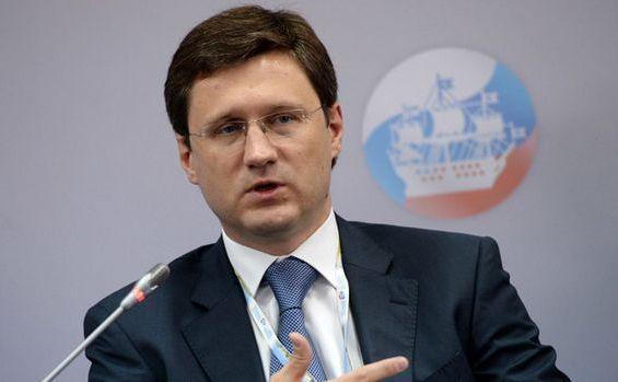 Ministrul rus al energiei, Alexander Novak.