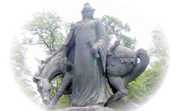 Yue Fei, general al dinastiei Song de Sud.