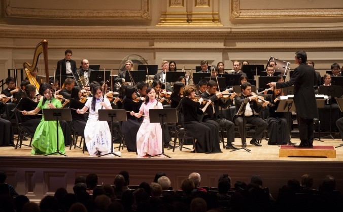 Orchestra de muzică simfonică a Shen Yun.