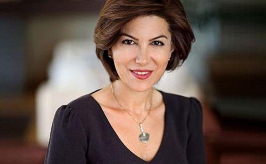 Jurnalista turcă Sedef Kabas.