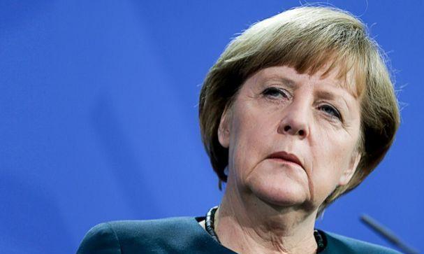 Cancelarul german, Angela Merkel.