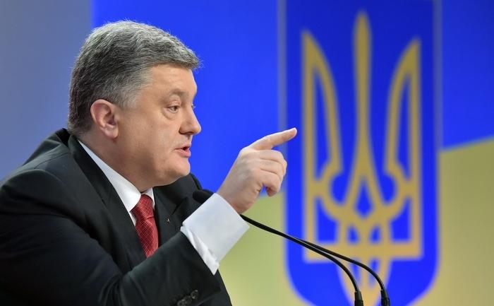 Preşedintele ucrainean Petro Poroshenko în Kiev