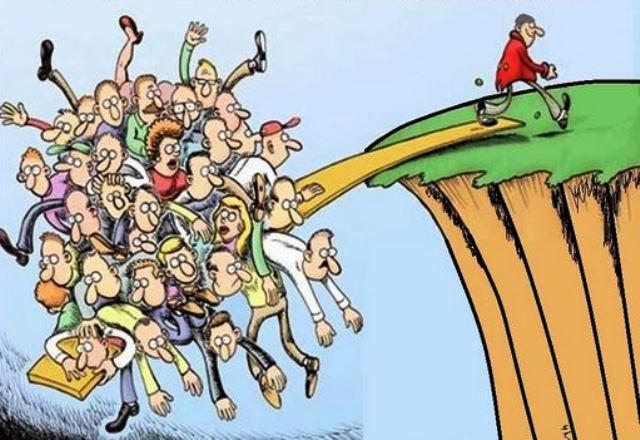 Bogaţi vs săraci