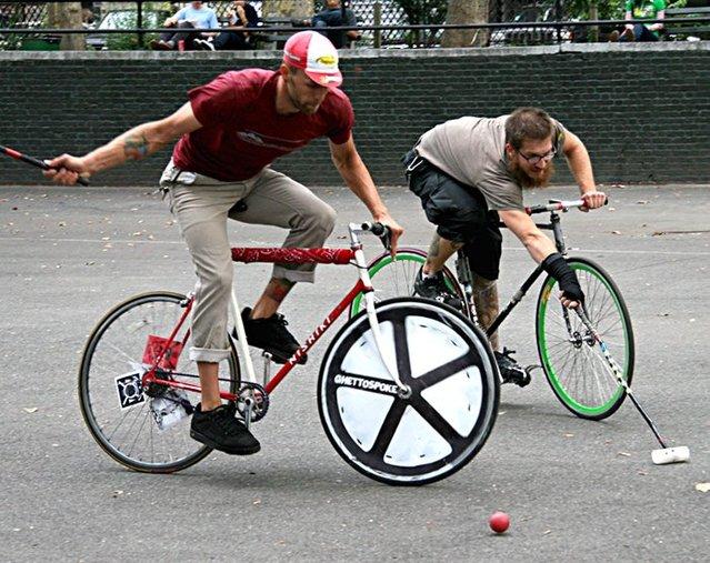 Bike Polo (polo pe bicicletă)