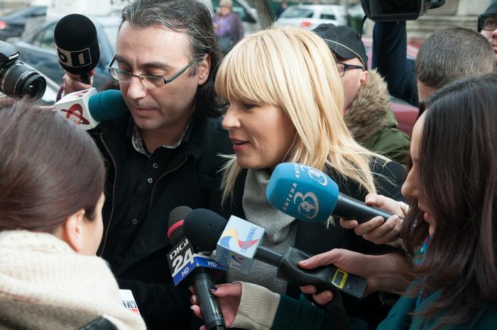 Elena Udrea, adusă cu mandat la DNA, 29 ianuarie 2015