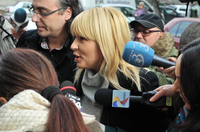 Elena Udrea, invitată cu mandat la DNA, 29 ianuarie 2015