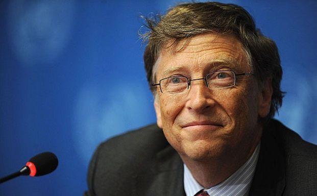 Fondatorul Microsoft, Bill Gates.