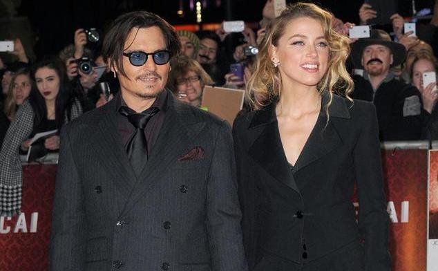 Actorii Johnny Depp şi Amberr Heard s-au căsătorit pe 4 februarie 2015