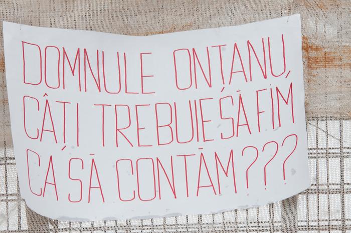 Protest împotriva Primăriei Sectorului 2