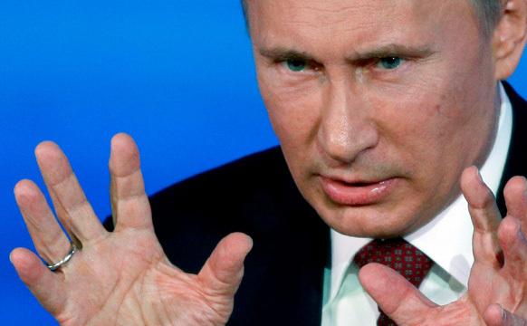 Preşedintele rus, Vladimir Putin.
