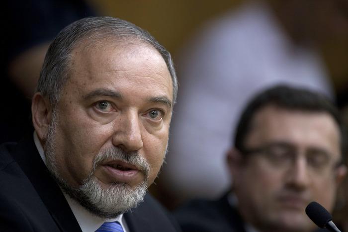 Avigdor Lieberman.