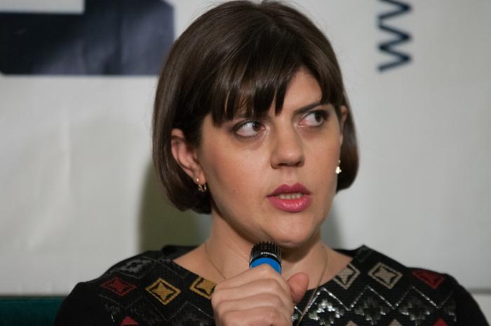 Laura Cotruţa Kovesi, la primireapremiuluiGDS, 12 martie 2015