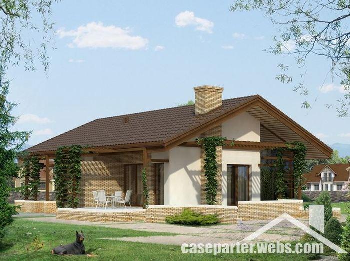 Idei de case f r etaj epoch times rom nia for Modele de case fara etaj cu terasa