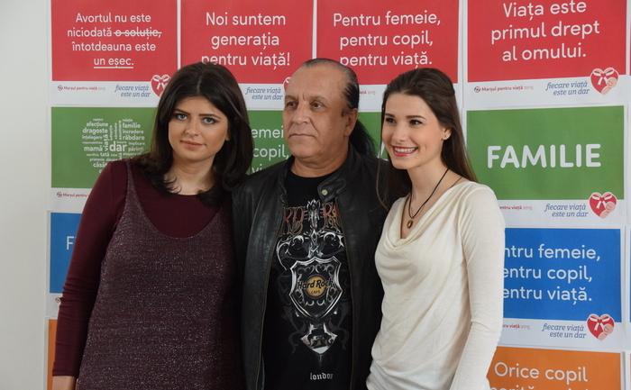 Alexandra Nadane, Ioana Picoş şi Nelu Dumitrescu, 18 martie 2015