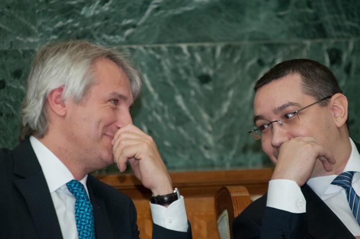 Victor Ponta şi Eugen Teodorovici