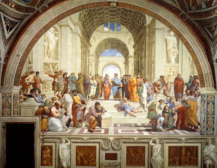 Rafael - Şcoala ateniană