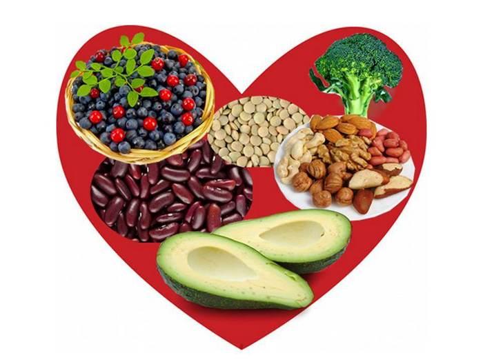 Cele mai bune legume şi fructe pentru inimă