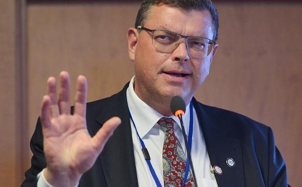 Ministrul danez al Comerţului şi Dezvoltării, Mogens Jensen.