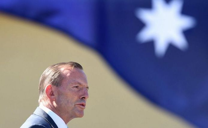 Premierul australian Tony Abott.