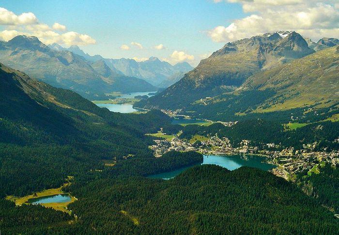 Engadin Valley - Elveţia