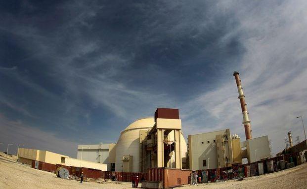 Centrala nucleară de la Bushehr, Iran.