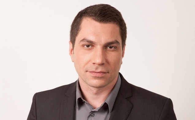 Jurnalistul Cătălin Prisăcariu