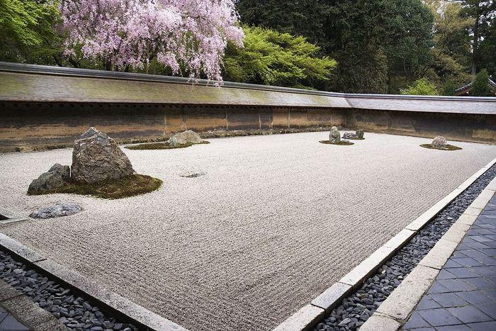 Grădina Ryoan-Ji - Japonia