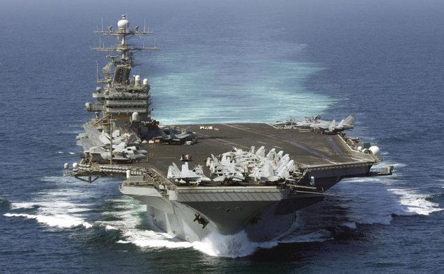 Portavionul american USS Theodore Roosevelt se îndreaptă spre Golful Aden.