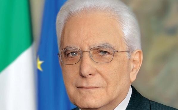 Preşedintele Italiei, Sergio Mattarella.