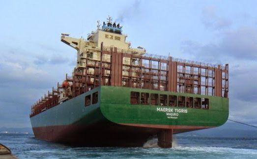 Cargoul Maersk Tigris.