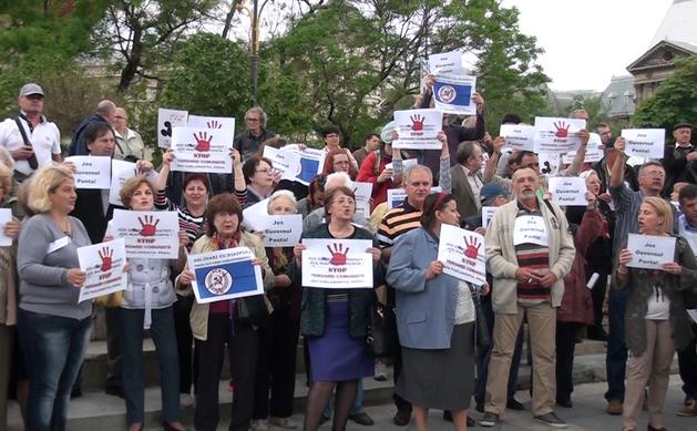 Protest anti-Ponta, Piaţa Universitaţii, 3 Mai 2015