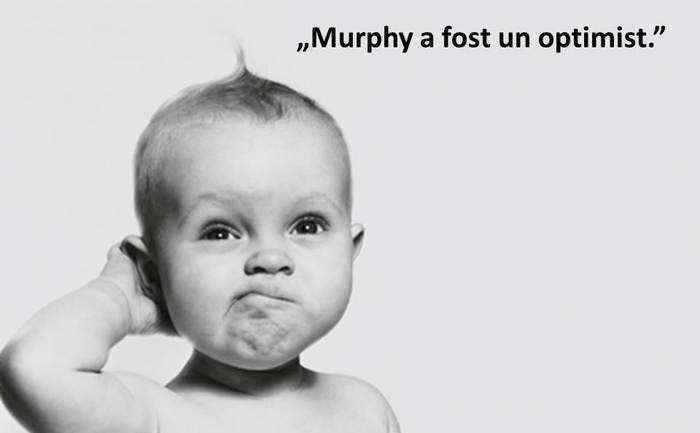 Cele mai amuzante legi ale lui Murphy