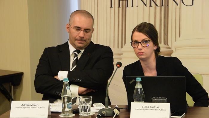 Adrian Moraru, Elena Tudose, conferinţă IPP despre potenţialul de fraudă în proiectele de finanţare din fonduri europene