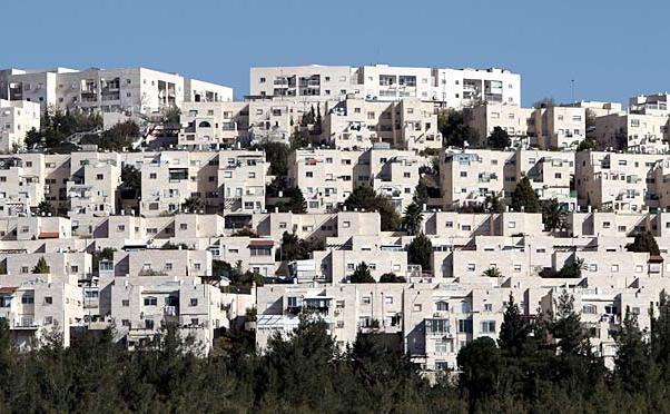 Cartierul  Ramat Shlomo, o aşezare israeliană din Ierusalimul de Est, unde  guvernul de la Tel Aviv a dat undă verde pentru construirea unui număr  suplimentar de 900 de locuinţe, 6 mai 2015.