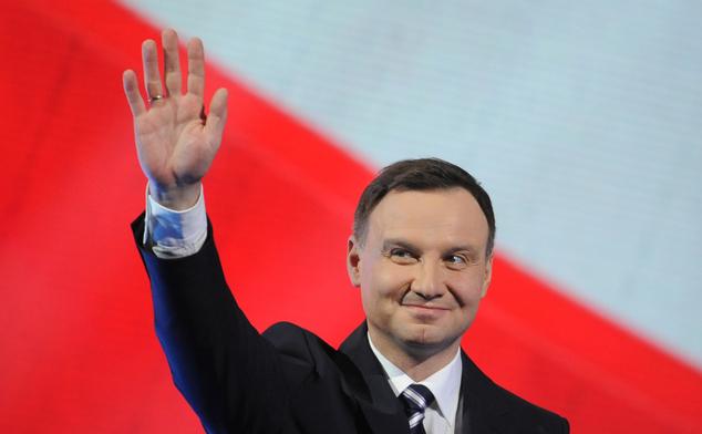 Andrzej Duda, câştigătorul alegerilor prezidenţiale din Polonia şi noul preşedinte polonez.