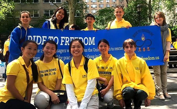 Un grup de 30 de tineri vor traversa SUA, pe biciclete, pentru a atrage atenţia asupra persecuţiei împotriva Falun Gong din China.