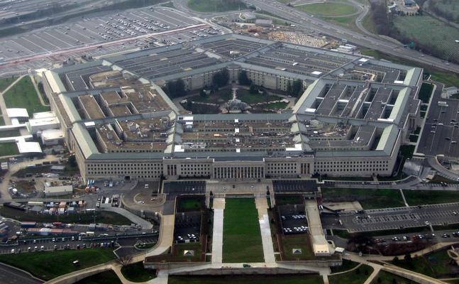 Sediul Pentagonului în districtul Arlington, Virginia, SUA.