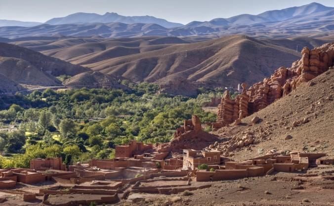 Peisaj din Maroc