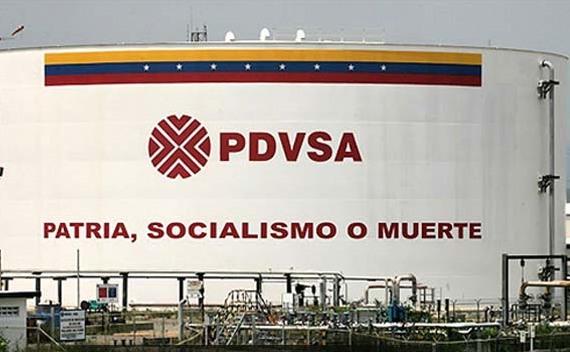 Rezervor petrolier al companiei venezuelene Petroleos de Venezuela (PDVSA)